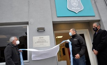 Zamora y Berni inauguraron la nueva sede policial en Tigre | Provincia