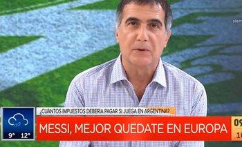 Antonio Laje usó a Messi para criticar el impuesto a las fortunas | Televisión