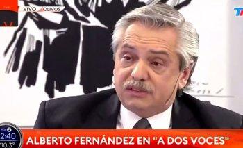 Alberto Fernández destrozó a Clarín en TN y descolocó a Bonelli   Grupo clarín