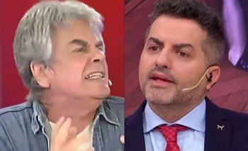 Escandaloso cruce en vivo entre de Brito y Raúl Rizzo   Televisión