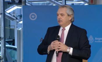 Alberto felicitó a la industria por los protocolos sanitarios | Automotrices