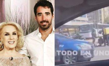 Las primeras imágenes del accidente de tránsito de Nacho Viale | Mirtha legrand