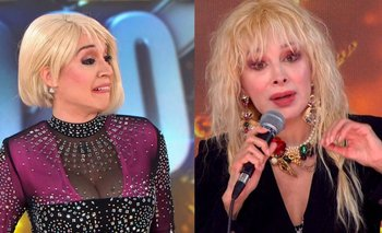 Feroz cruce entre Fátima Florez y Nacha Guevara en el Cantando 2020   Cantando 2020