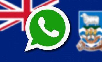 WhatsApp: fuerte reclamo argentino por el emoji de las Malvinas | Celulares
