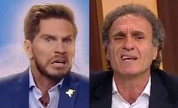 Ruggeri y su ataque de furia contra Vignolo al aire de Fox Sports | Televisión