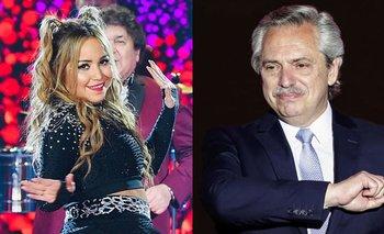 Karina le hizo un especial pedido a Alberto Fernández | Cantando 2020