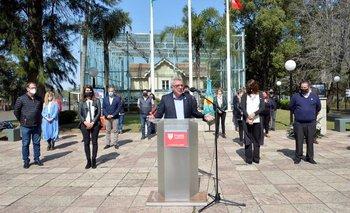 Zamora convocó a un pacto para la vuelta a clases en las escuelas | Política