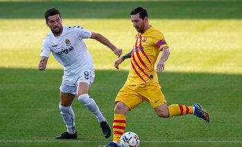 Barcelona vs. Nástic: Messi, protagonista del 1-0 que abrió el partido | Barcelona
