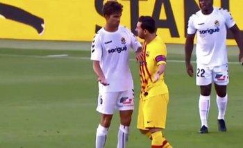 Barcelona: un defensor del Nàstic reveló qué le dijo Messi en un cruce | Fútbol