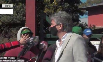 Zoo de Luján: Tensión y empujones en la clausura | Animales