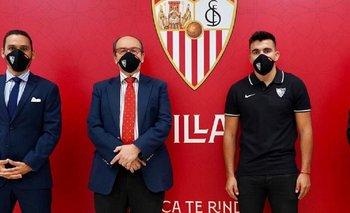 Sevilla anunció el arribo de un jugador de la Selección argentina | Fútbol