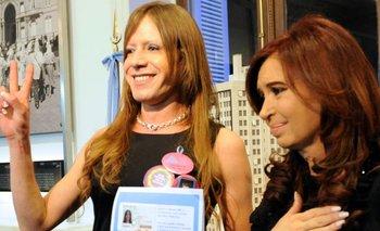 Cristina decretó el cupo laboral travesti-trans en el Senado | Cristina kirchner