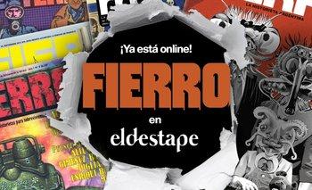 Fierro ya está online en El Destape | Lanzamiento