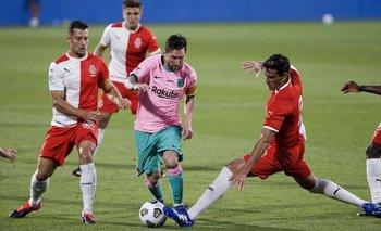 ¡De derecha! El soberbio golazo de Messi en el amistoso del Barcelona | Fútbol