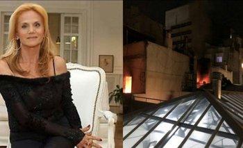 El video del incendio en el departamento de Elsa Serrano | Medios