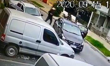 Violento robo en Ciudadela: ladrones armados con una metralleta | Policiales