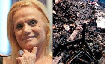 Muerte de Elsa Serrano: las fotos del departamento tras el incendio | Elsa serrano