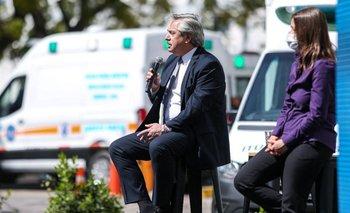Alberto Fernández anunció aumento y blanqueo para la Policía Federal | Coronavirus en argentina