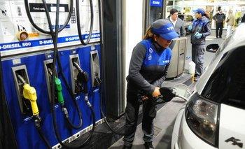 YPF aumentó  los combustibles un 3,5% promedio | Aumento de nafta