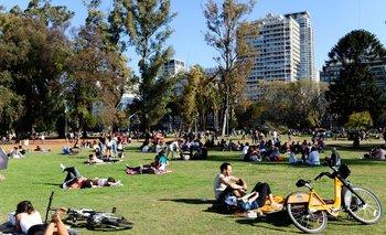 Día de la primavera: el operativo de Ciudad en parques y plazas | Dia de la primavera
