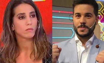 Nicolás Magaldi y una insólita despedida a Cinthia Fernández en vivo | Televisión