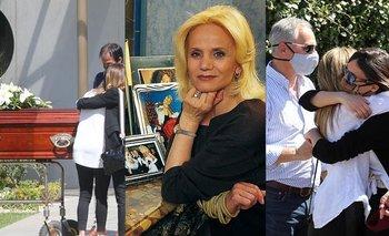 El desgarrador entierro de Elsa Serrano en un cementerio de Pilar | Famosos
