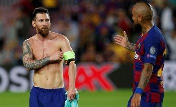 Sorpresivo mensaje de Messi para despedir a Arturo Vidal del Barcelona | Fútbol