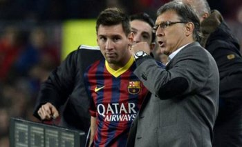 La explosiva frase de Martino a Messi cuando dirigía al Barcelona   Fútbol
