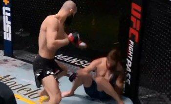 VIDEO: El estremecedor nocaut de Chimaev en sólo 17 segundos en la UFC | Ufc