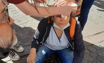 Así fue la protesta de enfermeros en Ciudad que terminó en represión | Coronavirus en argentina