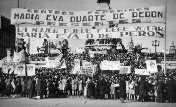 Voto femenino en Argentina: historia de una lucha   Movimiento feminista