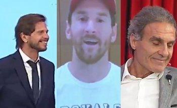 El saludo de Messi al Pollo Vignolo que indignó a Ruggeri   90 minutos de fútbol