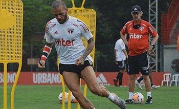 Atento River: Dani Alves quiere irse del San Pablo y hay polémica | Fútbol