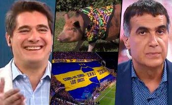 Laje y su furia contra Andino por una broma a los hinchas de Boca | Televisión