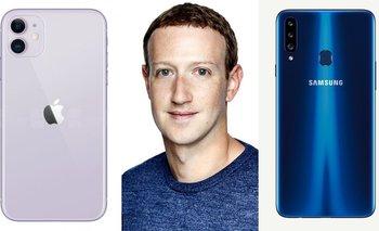 Mark Zuckerberg explicó por qué no usa iPhone y prefiere Samsung | Celulares