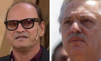Carlos Belloso le dejó un pedido especial a Alberto Fernández | Entrevistas en el destape