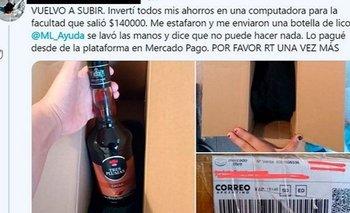 Impresionante robo de una compra de Mercado Libre | Viral