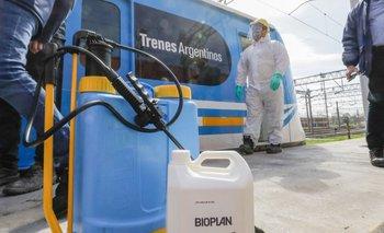 Transporte y el Malbrán aprobaron nueva fórmula de desinfección | Ministerio de transporte