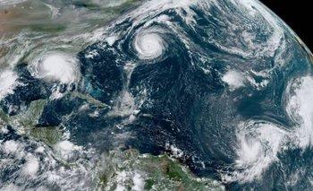 Asombroso: por qué hay cinco ciclones al mismo tiempo en el Atlántico | Fenómenos naturales