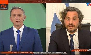 Santiago Cafiero dejó en ridículo a Bonelli y Alfano en TN   Televisión