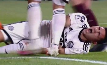 VIDEO: Desgarrador grito de un jugador de Olimpia tras sufrir una lesión | Fútbol