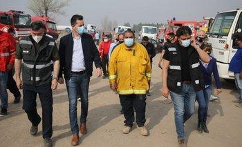 Incendios en Córdoba: el vicegobernador visitó las zonas afectadas | Incendio forestales
