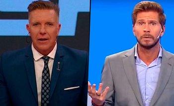 Vignolo, Fantino y una feroz guerra de egos que los separa en ESPN   Televisión