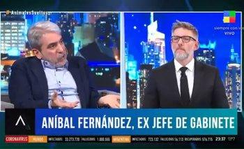 El fuerte cruce de Aníbal Fernández en Animales Sueltos | Animales sueltos