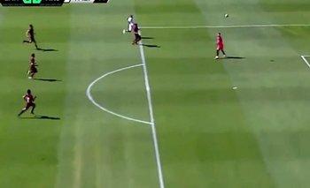 ¡Volvió el fútbol! El golazo de Arsenal en el amistoso ante Lanús  | Fútbol