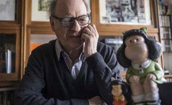 Murió Quino: así lo despidieron sus colegas dibujantes  | Quino