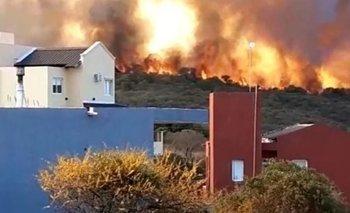 Córdoba: los videos más impactantes de los incendios en Carlos Paz | Video