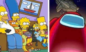 Among Us: ¿Los Simpson también predijeron el famoso juego? | Series