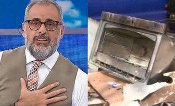 El crudo relato de Jorge Rial sobre el incendio en su casa   Farándula