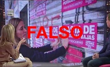 Clarín desmintió a Canosa por una fake news sobre el Frente de Todos | Elecciones 2021